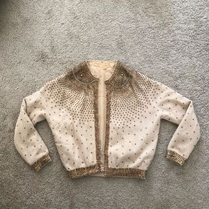 Sweaters - Sequined vintage 1950s sweater